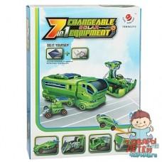 Конструктор Робот Автопарк 7 в 1
