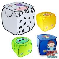 Складная корзина для игрушек