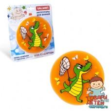"""Мини-коврик для ванной комнаты """"Крокодил"""""""