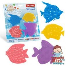 """Набор мини-ковриков для ванной """"Рыбки"""""""