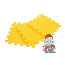 Мягкий пол / Коврик-пазл жёлтого цвета